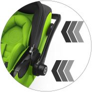 Kiddy - Evoluna i-Size 2 inkl. Isofix Base 2 Iron Grey Kollektion 2019