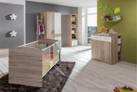 Stylefy Lio Kinderzimmer-Set VI Sanremo Eiche Weiß