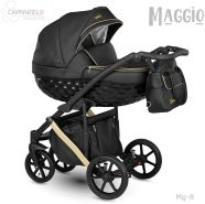 Camarelo Maggio 3in1 Kombikinderwagen Mg-8 schwarz/ Gold