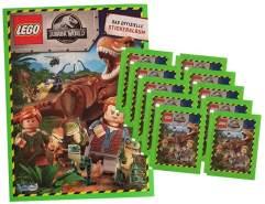 Blue Ocean Jurassic World Lego Sticker (2020) - 1 Album + 10 Tüten - Sammelsticker