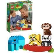 LEGO DUPLO 10884 'Meine erste Wippe mit Tieren', 15 Teile, ab 18 Monaten