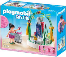 PLAYMOBIL - Dekorateurin mit LED-Podest 5489