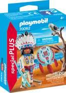 Playmobil Special Plus 70062 'Indianerhäuptling', 6 Teile, ab 4 Jahren