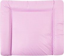 Julius Zöllner Wickelauflage Softy Folie Karo rosa B 60 x T 75 cm