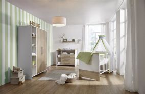 Schardt 'Eco Plus' 3-tlg. Babyzimmer-Set Schrank 2-türig