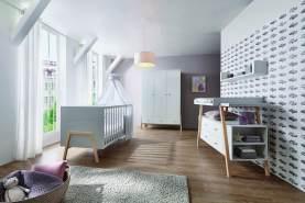 Schardt 'Holly Nature' 3-tlg. Babyzimmer-Set Schrank 3-türig