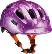 ABUS Fahrradhelm Smiley 2. 0 Kinder - purple star - 45-50 cm