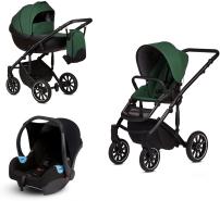 Anex 'm/type' Kombikinderwagen 2020 Lime inkl. Babyschale