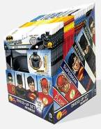 DC - Justice League Action – Display WB Party Time, 36-er Set, Einheitsgröße (Rubies Spain 33687)