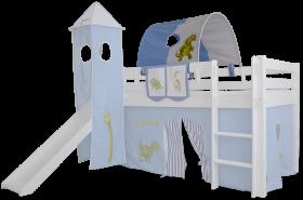 Mobi Furniture Tunnel Dinosaurier für Hochbett