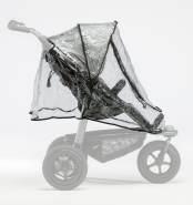 TFK Regenschutz für Mono oder Duo Kinderwagen Mono Sportwagen