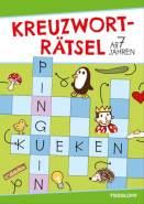 Kreuzworträtsel (Grün/Pinguin), Taschenbuch, 48 Seiten, ab 7 Jahren