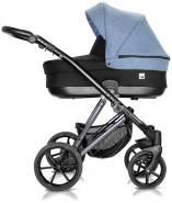 Milu Kids Vivaio Less Kombikinderwagen 2in1 viv 06-02 blau/schwarz