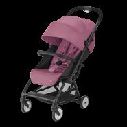 CYBEX Gold 'EEZY S 2' Buggy 2021 Black/Magnolia Pink