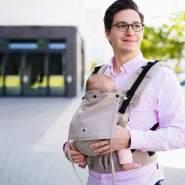LIMAS Flex Babytrage Beige