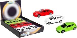 Speedzone - Lizenz-PKW mit Rückzug, 3-fach sortiert
