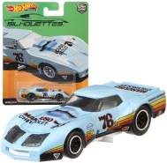 Cars Mattel FPY86 - '76 Greenwood Corvette® - Car Culture Super Silhouettes | Hot Wheels Premium Auto Set |