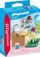 Playmobil Special Plus 70301 'Mädchen beim Zähneputzen', 15 Teile, ab 4 Jahren