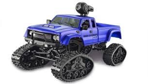 Amewi Pickup Truck FPV mit Rädern & Ketten 4WD 1:16 blau