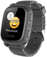 Elari KidPhone 2 Kinder-Smartwatch (3,66 cm (1. 44 Zoll), TFT, GPS, Schwarz