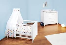 Pinolino 'Puro' 2-tlg. Babyzimmer-Set weiß