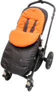 For-your-Little-One - For-your-Little-One - Fußsack/COSY TOES kompatibel mit Britax orange