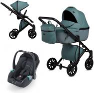 Anex 'e/type' Kombikinderwagen 2020 Aqua inkl. Recaro 'Avan' Babyschale
