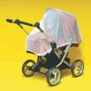 Sunnybaby 10169 Insektenschutznetz für Kinderwagen, komplett geschlossenes Modell - Farbe: WEISS