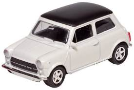 Metal Mini Cooper 1300: White 7 cm