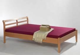 'Alex' Kinderbett aus massiver Buche, natur, 140x200 cm