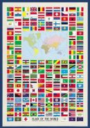 International Publishing 0804N00008B - Flags of The World, Klassische Puzzle