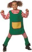 Wilbers - Kinderkostüm Grünes Kleid Größe 164
