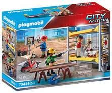 Playmobil City Action 70446 'Baugerüst mit Handwerkern', 51 Teile, ab 5 Jahren