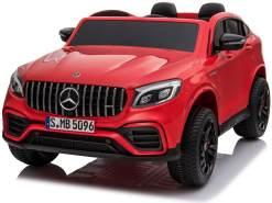 """Kinder Elektroauto Mercedes GLC Allrad 4x45W Elektrofahrzeug 2-Sitzer Eva Leder"""
