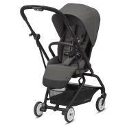 CYBEX Gold 'EEZY S TWIST 2' Buggy 2021 Black/Soho Grey