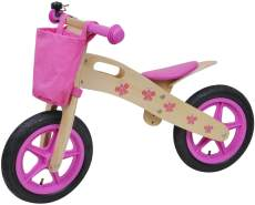 Siva - Woody Butterfly Bike, Holz, rosa (90110)