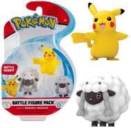 Auswahl Battle Figuren   Pokemon   Action Figur   Spiel-Figur zum Sammeln Pikachu & Wolly