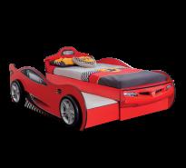 Cilek 'Racecup' Autobett inkl. Gästebett, rot 90x190
