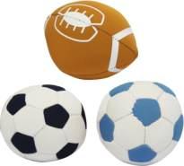 New Sports Neoprene Bälle, 3-fach sortiiert