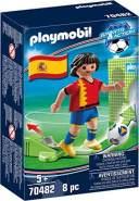 Playmobil Sports & Action 70482 'Nationalspieler Spanien', 8 Teile, ab 5 Jahren