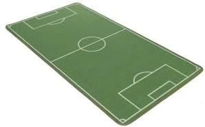 Kinderteppich 'Lovely Kids' Fußballfeld 100x160 cm