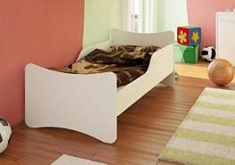 Best For Kids Kinderbett mit Schaummatratze 80x160 cm, weiß