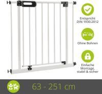 Türschutzgitter Merle 233 - 241 cm Weiß