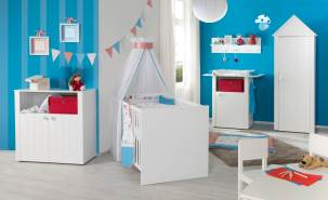 Roba 3-tlg. Kinderzimmer-Set 'Lotte'