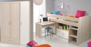 2-tlg. Kinderzimmer-Set 'Tesso'