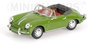 PORSCHE 356 C CABRIOLET - 1965 - grün