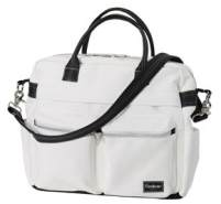Emmaljunga Wickeltasche Travel Leatherette White Kollektion 2021