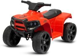 Kidcars Kinder Elektro Offroad Panda ATV Geländewagen 25W 6V 4. 5Ah Rot