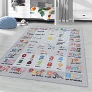 Kinderzimmer Kinderzimmerteppich 120x170 Grau