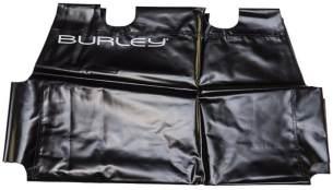 Burley Unisex– Erwachsene Boden Flatbed Bespannung, Schwarz, One Size
